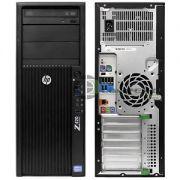 HP Z420 Workstation E5-1620v2 3.7GHz/8 CPU/RAM 16GB/SSD 120GB/HDD 1TB/ Quadro K2000 2GB