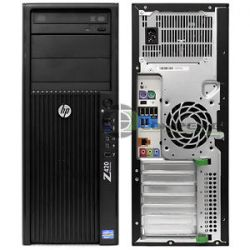 HP Z420 Workstation E5-1620v2 3.7GHz/8 CPU/RAM 16GB/SSD 120GB/HDD 1TB/ Quadro K2000 2GB
