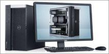 DELL PRECISION T7600; 2 XEON E5-2687W 3.1 GHZ/32 THREADS/32GB RAM/HDD 1TB/SSD 256GB/QUADRO K5000 4GB
