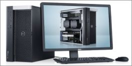 DELL PRECISION T7600; 2 XEON E5-2687W 3.1 GHZ/32 CPU/32GB/1TB/SSD 256GB/QUADRO K5000 4GB