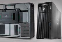 HP Z820 WORKSTATION; 2 CPU XEON E5-2687W 3.1GHZ/32 THREADS/32GB RAM/SSD 256GB/HDD 1TB/ QUADRO K4000 3GB