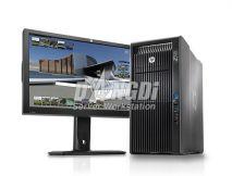 HP Z820 WORKSTATION; 2 CPU XEON E5-2670V2 2.5GHZ/40 CPU/32 GB/SSD 256GB/HDD 1TB/GTX 1070 Ti 8GB