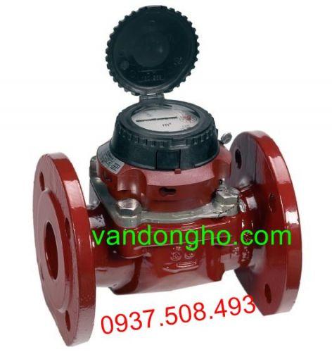 Đồng hồ đo lưu lượng nước nóng Sensus lắp bích DN50-DN500