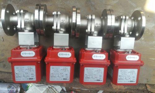 Van bi điều khiển điện DN 20, INOX ss 304, 316, động cơ điện SUN YEH, UNIK D
