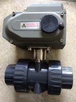 Van bi nhựa Upvc/EPDM/ cPVC điều khiển điện ..Shieyu/ Sanking