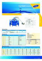 Van phao điều khiển thủy lực DN 100, Phi 114, kết nối mặt bích sơn EPOXY DN 100, hiệu LYE, AVK, TEK, ARV, OHO, AUT