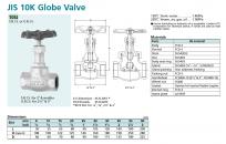 Van cầu KITZ 10SJ - Globe valve 10SJ JIS 10K