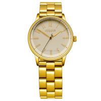 Đồng hồ nữ JULIUS JA-859 dây thép (vàng)
