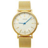 Đồng hồ nam JULIUS JA-867 dây thép (vàng)