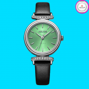 Đồng hồ nữ JULIUS JA1031 dây da đen