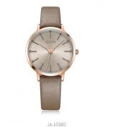 Đồng hồ nữ JULIUS JA-1034 dây da nâu