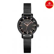 Đồng hồ nữ Julius Ja1063 dây thép đen