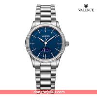 ĐỒNG HỒ nữ VALENCE  VC068 dây thép mặt xanh