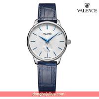 ĐỒNG HỒ nữ  VALENCE VC077 dây da xanh kính sapphire (New Arrival)