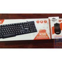 Bộ bàn phím chuột GOLDTECH K98 M89