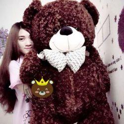 Gấu Teddy nơ CK đại (1m5 & 1m8)