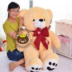 Gấu nơ nhung Yiyaya 1m2