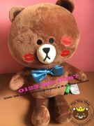 Gấu Brown môi hôn HQ (40cm, 60cm)