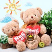 Gấu bông teddy baby ôm tim Hug me (40cm, 50cm)