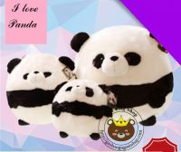 Gấu bông Panda tròn lông dày cao cấp (30cm, 40cm, 50cm)