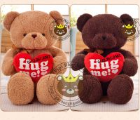 Gấu bông Teddy Baby Limited ôm tim (80cm, 1m2, 1m4, 1m6))