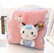 Gối mền Mèo Nhật bản Thỏ trắng (1m1 * 1m6)