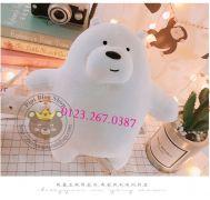 Gấu bông 3 con gấu - Đơn giản tôi là Gấu lông 3d (40cm)
