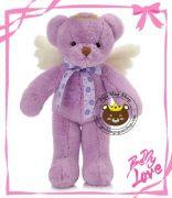 Gấu bông Angel tím lavender (40cm, 60cm)