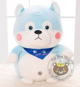 Chó bông Love Dog xanh Littlecucu chính hãng (40cm, 60cm, 80cm)