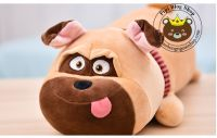 Chó bông mặt xệ Bull Dog lông 3d (50cm, 70cm)