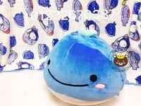 Gối mền Cá voi xanh lông 3d (1m* 1m4)