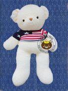 Gấu bông teddy lông Thái áo len (60cm, 80cm, 1m2, 1m4)