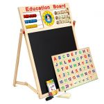 bộ Bảng từ 2 mặt Education Board và bộ chữ số cho bé