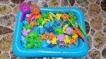 Bộ đồ chơi câu cá cho bé kèm bể nước bằng phao hơi