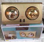 Đèn sưởi nhà tắm 2 bóng vàng chính hãng Braun