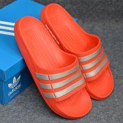 Dép Adidas Duramo chính hãng màu đỏ bạc