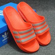 Dép Adidas Duramo chính hãng màu đỏ xám