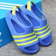 Sandal Adidas Adilette Blue Green Mino