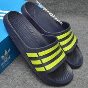 Dép Adidas Duramo chính hãng xanh đậm vàng