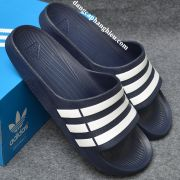 Dép Adidas Duramo chính hãng xanh đậm trắng