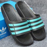 Dép Adidas Duramo chính hãng đen xanh ngọc