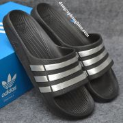 Dép Adidas Duramo chính hãng đen bạc