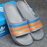 Dép Adidas Duramo chính hãng xám xanh cam