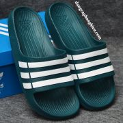 Dép Adidas Duramo chính hãng xanh rêu trắng