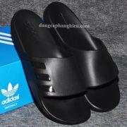 Dép Adidas Aqualette chính hãng màu đen sơn đen