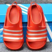 Sandal Adidas Adilette Red Silver