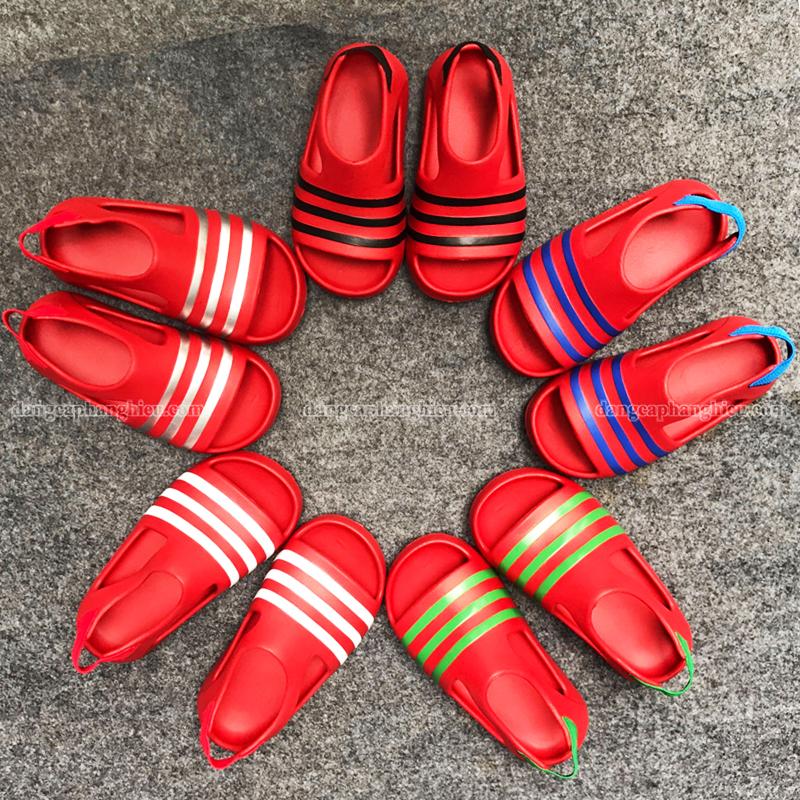 015420 Adidas Adilette Red 0