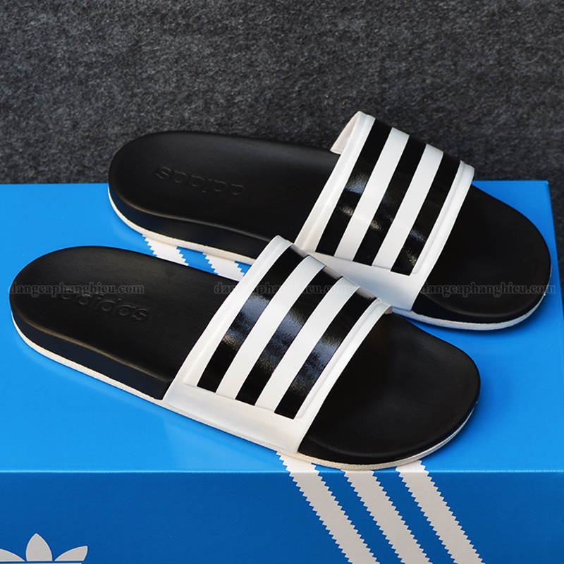 015341 Adidas Cloudfoam Sample Black White 1