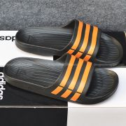 Adidas Duramo màu đen sọc cam