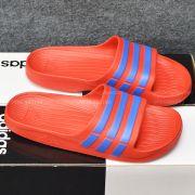 Adidas Duramo màu đỏ sọc xanh dương
